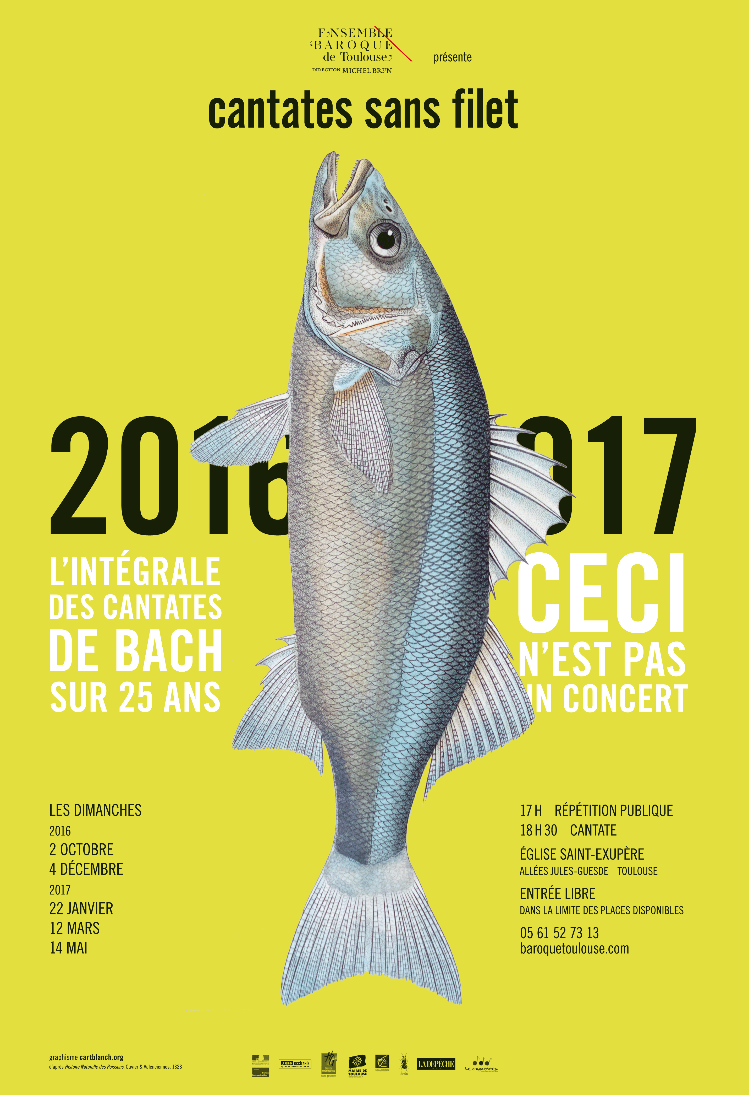 Cantates sans filet 20162017